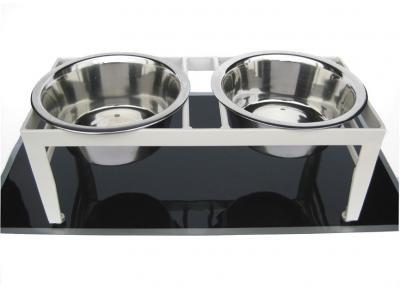 Pets Stop Chariot Double Diner Large - RDB19L-B