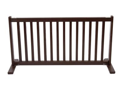 Dynamic Accents All Wood Freestanding Pet Gate Large - Mahogany - 42200