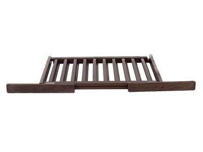Dynamic Accents All Wood Freestanding Pet Gate Small - Mahogany - 42204
