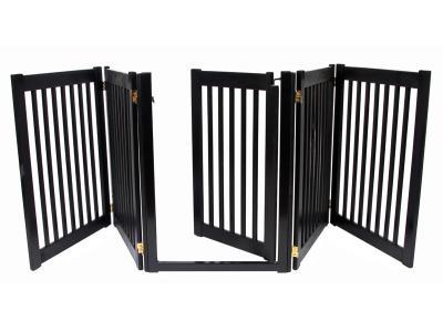 Dynamic Accents 5 Panel Walk-Through EZ Gate - Black - 42425