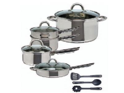 Cuisine select abruzzo 12 pc cookware set sales for Abruzzo 12 piece cookware set from cuisine select