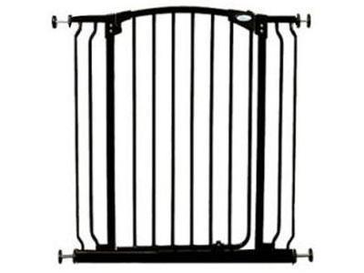 Dream Baby Tall Hallway Swinging Security Gate - (38'' - 42.5'') Black - F191B