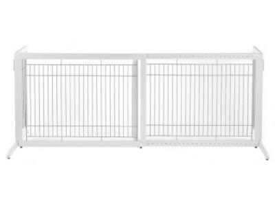 Richell Tall Freestanding Pet Gate HL - Origami White - 94159