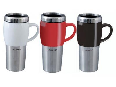 Gibson Mr Coffee Insulated 16 Oz Traverse Travel Mug