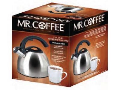 Gibson Mr. Coffee Steamline 2 Qt. Tea Kettle  - 72788.02