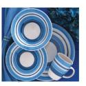Caramelo 16 pc Dinnerware Set, Blue - 76253.16