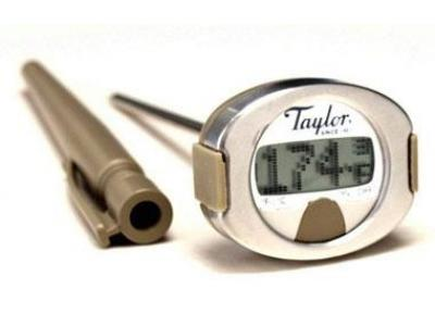 Taylor Connoisseur 508 Instant Read Digital Thermometer - 00508