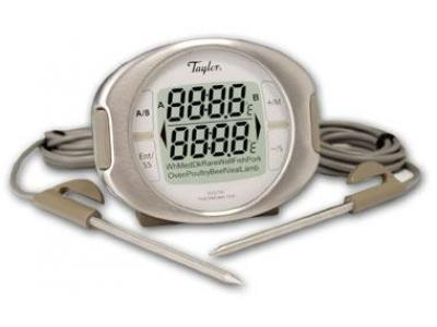 Taylor Connoisseur 522 Programmable Thermometer with Dual Probes - 00522