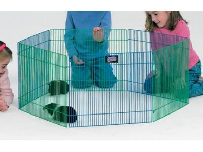 MidWest Small Animal 6-Panel Playpen - 15'' H x 19'' W  - 100-15