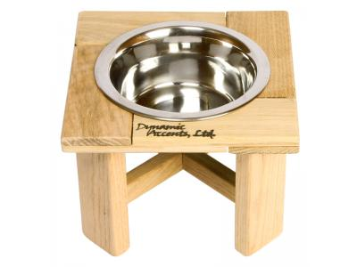 Dynamic Accents White Oak 6'' Outdoor Single Feeder - 52115
