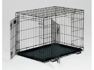 MidWest Life Stages 24'' Double Door Dog Crate - LS-1624DD