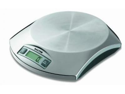 Salter 1010 Stainless Steel Electronic Food Scale - 1010SS