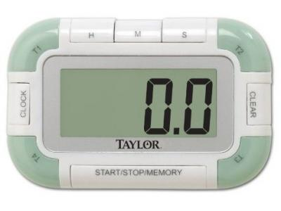 Taylor 5-Star 5862 Four Event Digital Timer & Clock - 5862