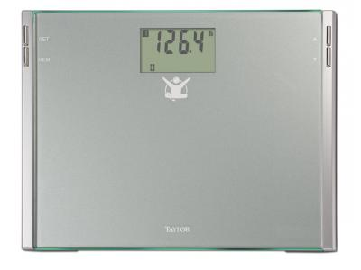 Taylor Biggest Loser 7544BL Cal-Max Lithium Glass Scale - 7544BL