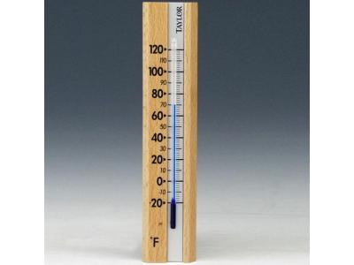 Taylor 5141 Indoor Wall Thermometer  - Ruler Style - 5141