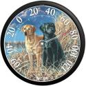 Taylor 6703N Black and Yellow Labrador Termometer - 6703N