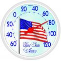 Taylor 6729 Dial Thermometer - American Flag - 6729