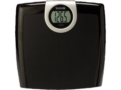 Taylor 7323 Black Lithium Electronic Scale - 7323-4072