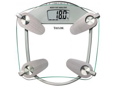 Taylor 5599F Glass Body Fat Scale - 5599F
