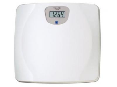 Biggest Loser 7023BL White Lithium Digital Scale - 7023BL