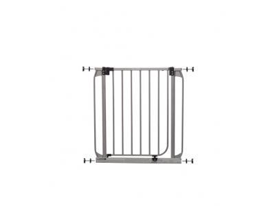 Dream Baby Flat Top Standard Swinging Gate Silver - L894S