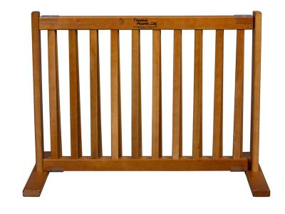 Dynamic Accents All Wood Freestanding Pet Gate Small - Artisan Bronze - 42604