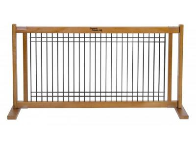 Dynamic Accents Freestanding Pet Gate Small - Artisan Bronze - 42607