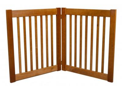 Dynamic Accents 2 Panel 27'' Freestanding EZ Gate - Artisan Bronze - 42620