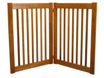 Dynamic Accents 2 Panel 32'' Freestanding EZ Gate - Artisan Bronze - 42622