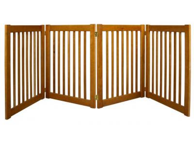 Dynamic Accents 4 Panel 32'' Freestanding EZ Gate - Artisan Bronze - 42623