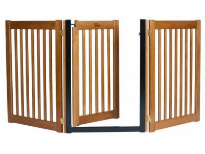 Dynamic Accents 3 Panel Walk-Through EZ Gate - Artisan Bronze - 42624