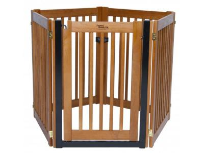 Dynamic Accents 5 Panel Walk-Through EZ Gate - Artisan Bronze - 42625