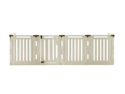 Richell Convertible Indoor/Outdoor 6-Panel Plastic Pet Playpen High (H6)  - 94192