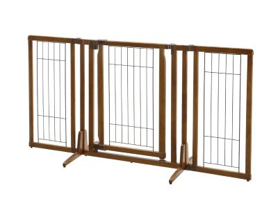 Richell Premium Plus Freestanding Pet Gate w/ Door - 94193