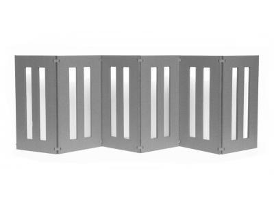 Pets Stop Backyard Dog Tall 6-Panel Outdoor Pet Gate - DG14-6P-32