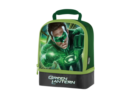 Thermos Green Lantern Dual Compartment Lunch Kit Sales