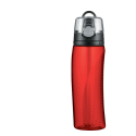 Thermos Intak Red 24oz. Hydration Bottle w/ Meter - HP4000RDTI6