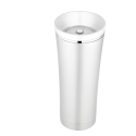 Thermos Sipp 16oz. Stainless Steel Vacuum Insulated Travel Tumbler w/ White Trim - NS105WH004