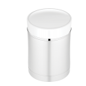 Thermos Sipp 16oz. Stainless Steel Vacuum Insulated Food Jar w/ White Trim - NS340WH004