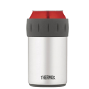 Thermos 12oz. Stainless Steel Vacuum Insulated Beverage Can Insulator - 2700TRI6