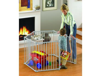 North States 3 in 1 Metal Superyard Play Pen - NS4930