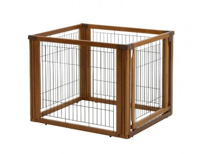 Richell Convertible Elite 4-Panel Pet Gate Low (L4) - 94196