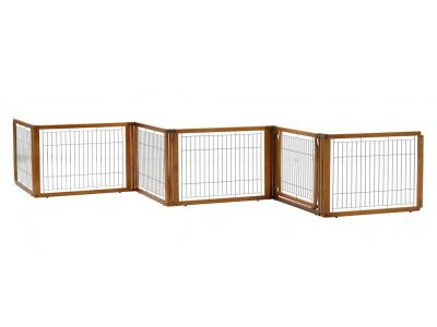 Richell Convertible Elite 6-Panel Pet Gate Low (L6) - 94199