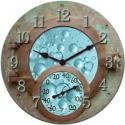 Springfield 14'' Sea Submarine Clock & Thermometer - 92531