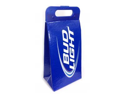 koolit bud light collapsible cooler bag case pack 12. Black Bedroom Furniture Sets. Home Design Ideas