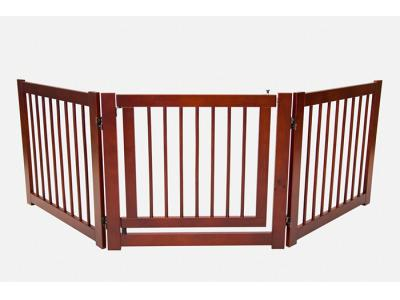 Primetime Petz 360 3-Panel Configurable Freestanding Pet Gate w/ Door - 33235