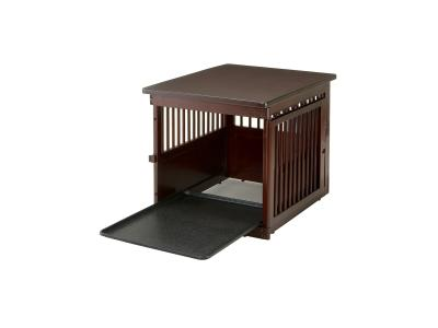 Richell Wooden End Table Crate Medium Sales Innovations