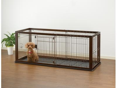 Richell Expandable Pet Crate Small w/ Floor Tray - 94920
