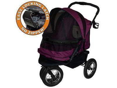 Pet Gear PG8700NZ NO-ZIP Double Pet Stroller - PG8700NZ