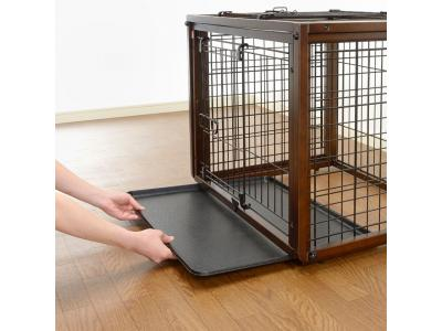 Richell Flip To Play Pet Crate Medium - 94925